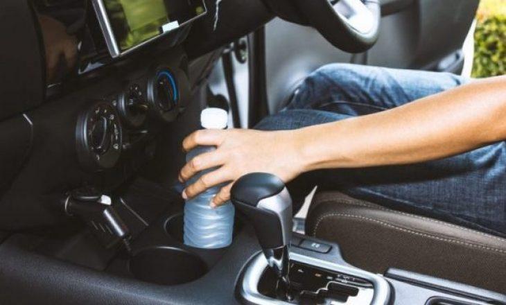 Mos e lini asnjëherë shishen e ujit në makinë, kjo mund t'ju ndodhë