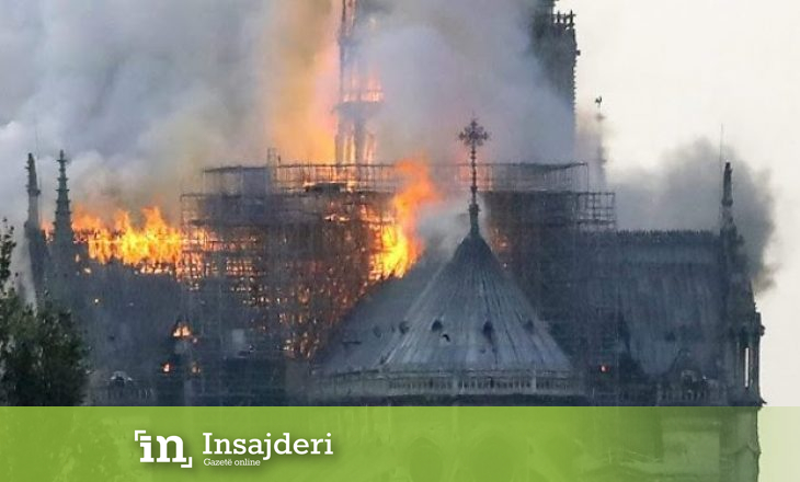 """Zjarri në """"Notre Dame"""", reagon edhe Angela Merkel"""