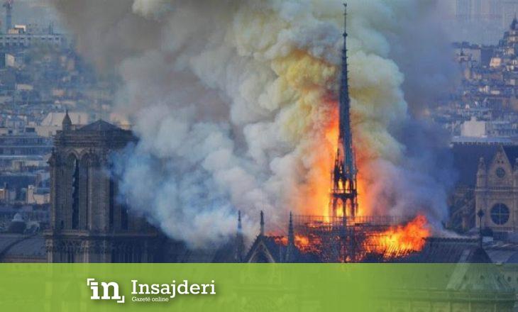 CNN: Pse ishte aq vështirë të shuhej zjarri në Notre Dame?
