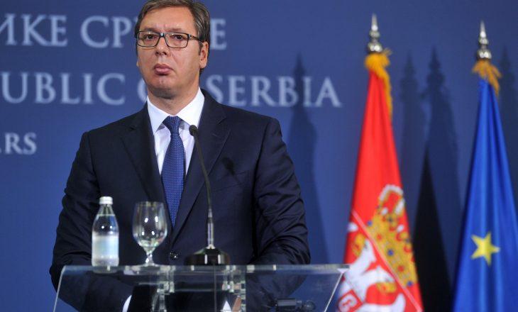 Vuçiq paralajmëron masa ndaj Kosovës nëse nuk hiqet taksa deri më 6 maj