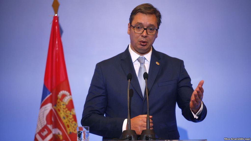 Vuçiq pretendon se ka plan për marrëdhëniet me Kosovën  por nuk e zbulon