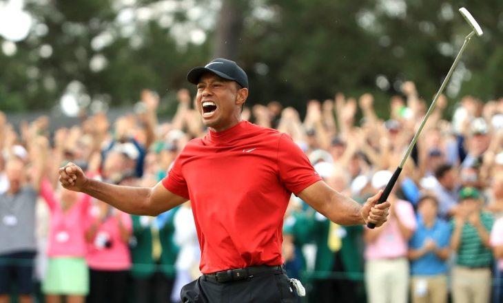 Tiger Woods e bën mrekullinë – fiton në Masters pas rikthimit të jashtëzakonshëm