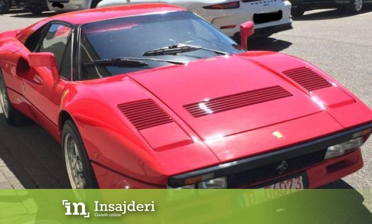 Ferrari Classic me vlerë milionëshe u vodh gjatë vozitjes provuese