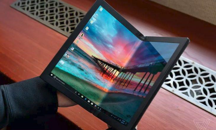 Lenovo tregon PC-në e parë të palosshme në botë