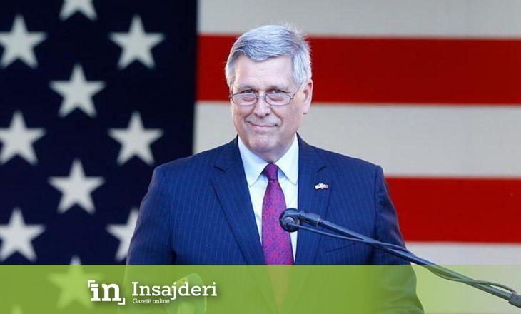 Ambasadori Kosnett thotë se SHBA-të janë të përfshira thellësisht në dialogun Kosovë-Serbi