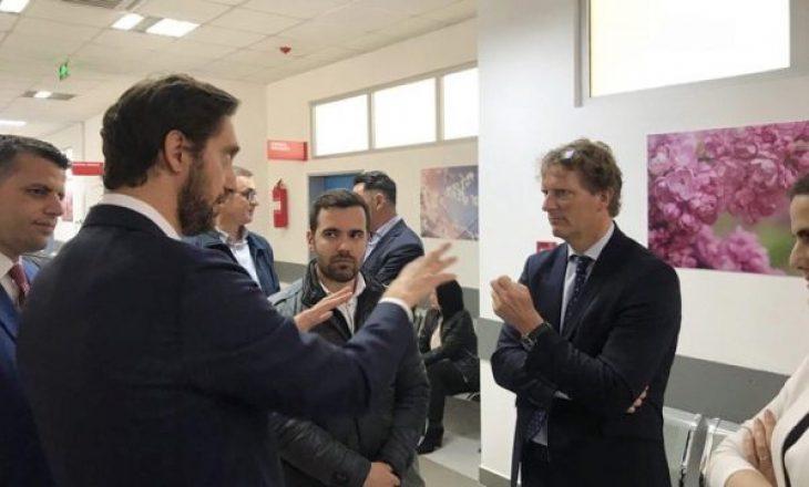Ekspertët gjermanë nisin punën në QKUK, shoqërohen nga ministri Ismaili
