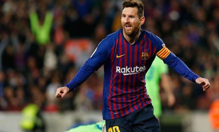 Shijoni brenda 60 sekondave të gjitha  golat e Messit në La Liga në këtë sezon (VIDEO)