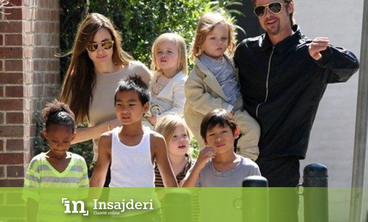 Vajza e Angelina Jolie dhe Brad Pitt fillon trajtimin për ndryshimin e gjinisë