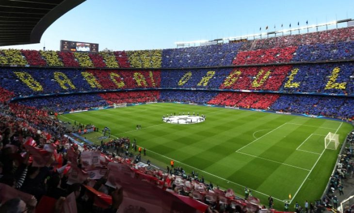 Ja sa njerëz e kanë vizituar 'tempullin' 'Camp Nou'