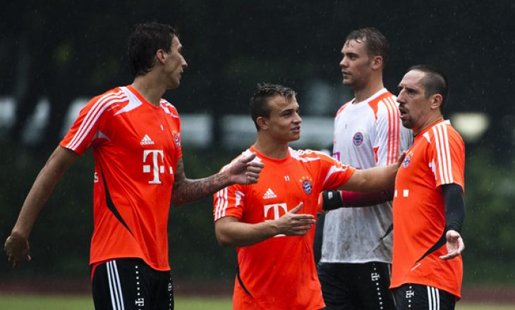 Xherdan Shaqiri me mesazh emocional për dy legjendat e Bayern Munich