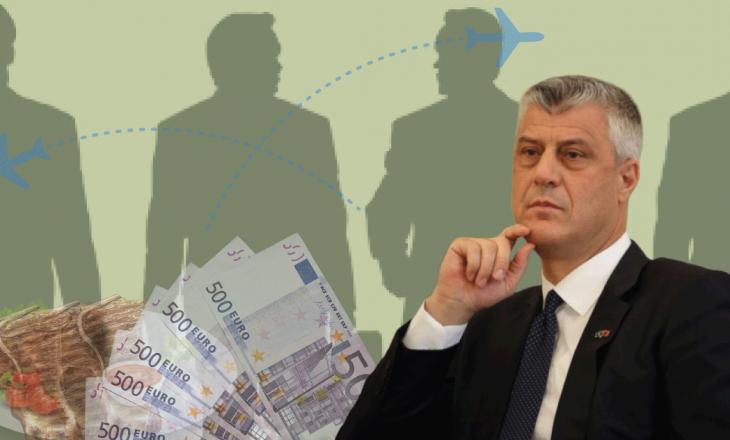 Udhëtime, dreka e darka – Sa i kushton Kosovës Presidenti?