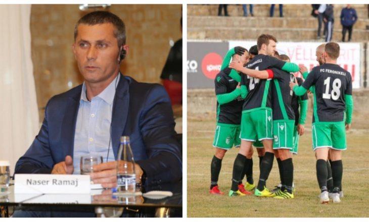 Ekskluzive: Presidenti i Feronikelit i konfirmon premia e majme për futbollistët e Feronikelit