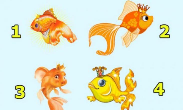 Zgjedh një peshk dhe zbulo çfarë thotë për ty