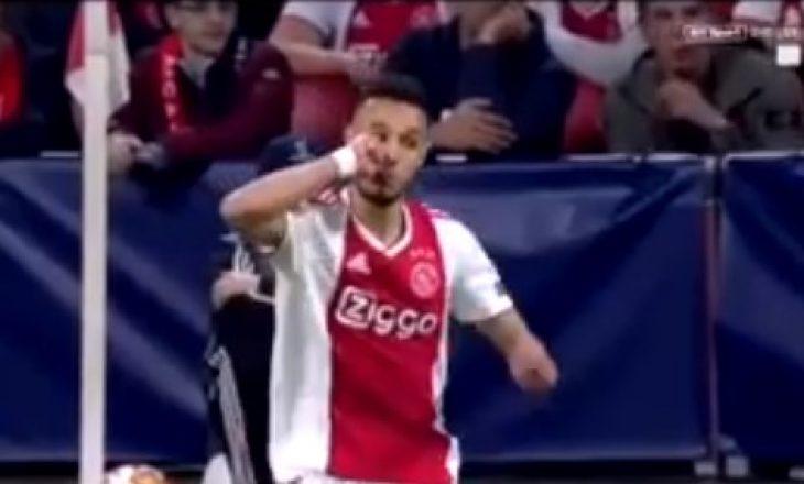 Ylli i Ajaxit e priti iftarin në fushë ndaj Tottenhamit
