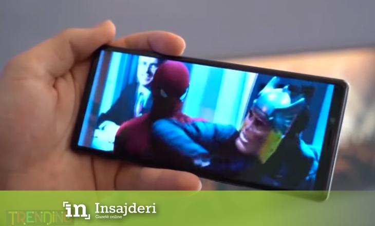 Telefoni si ekran kinemaje, ja sa kushton