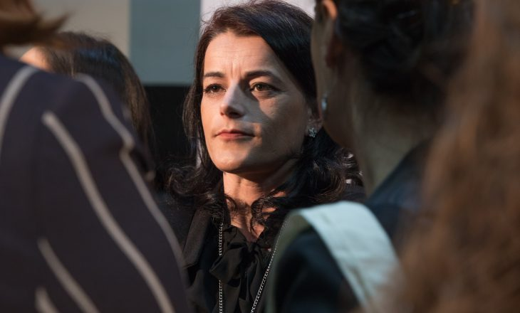 Vasfije Krasniqi-Goodman deklarohet rreth kandidimit për deputete