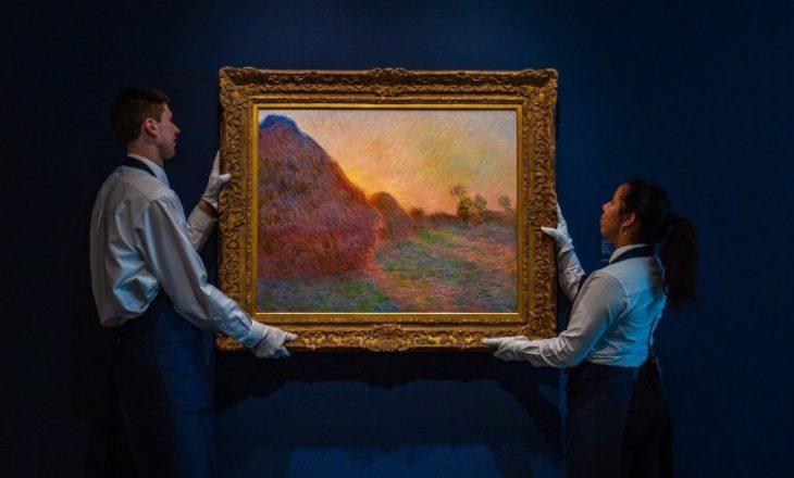 """Kryevepra e Monet shitet për një çmim rekord, kjo është shuma marramendëse që është paguar në ankand për """"Meules"""""""