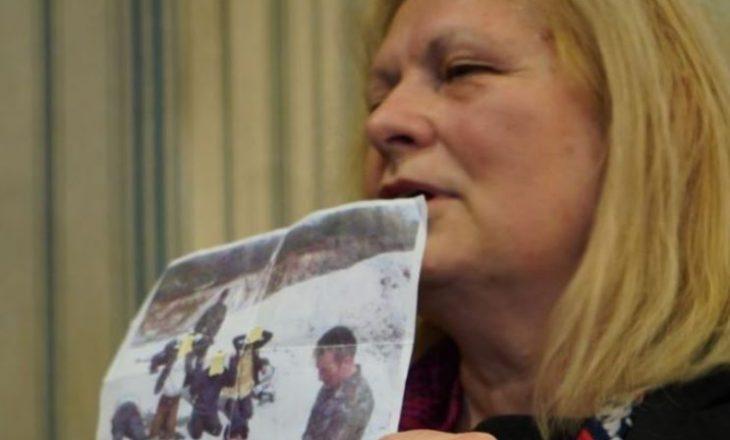 Brovina thotë se fotografinë e ka publikuar edhe më herët