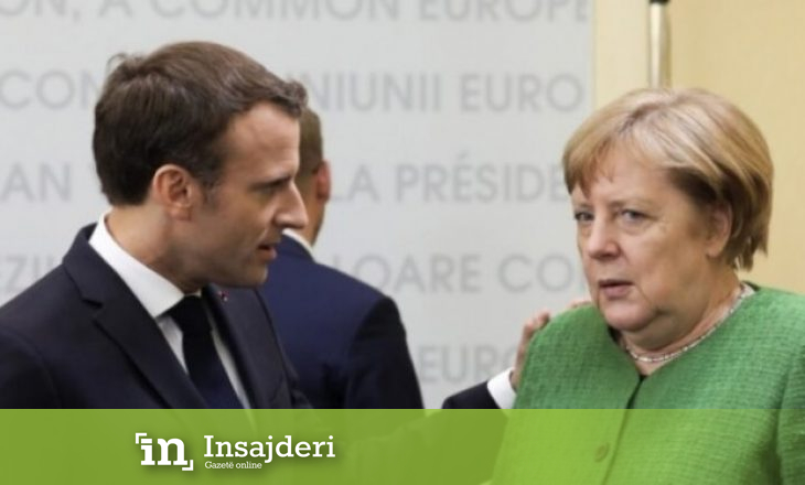 Angela Merkel pranon se kishte konflikt me Macronin