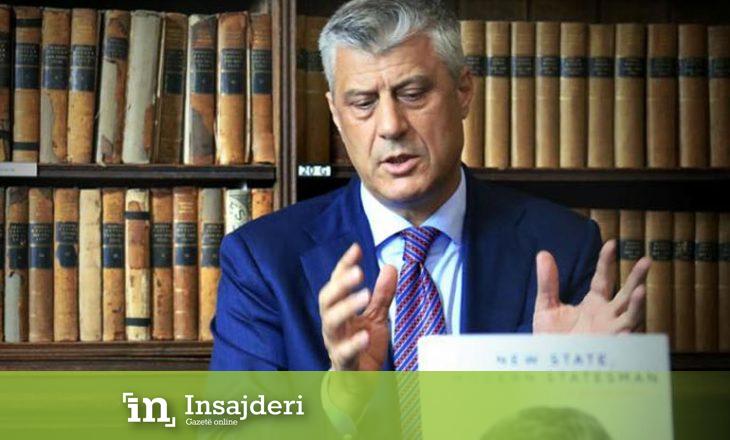 Befason Thaçi, propozon bashkimin me Shqipërinë: Të jetojmë në një shtet të përbashkët pa kufij