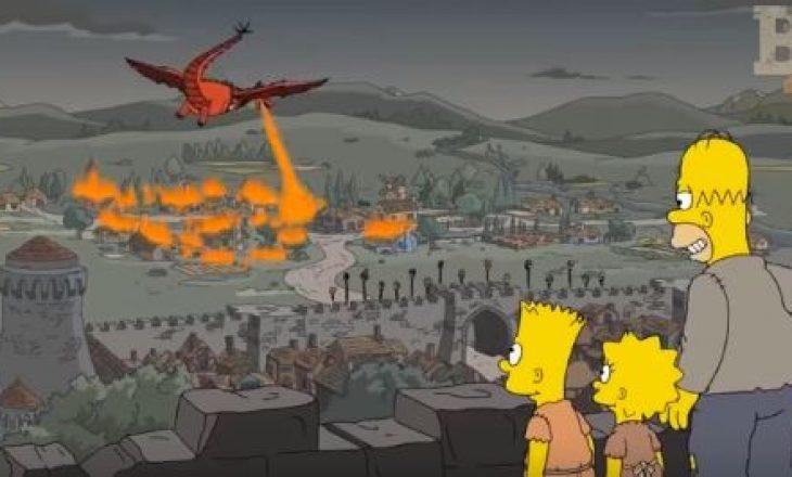 Betejën e mbretit të 'Game of Thrones' e parashikoi seriali 'The Simpson' dy vite më parë