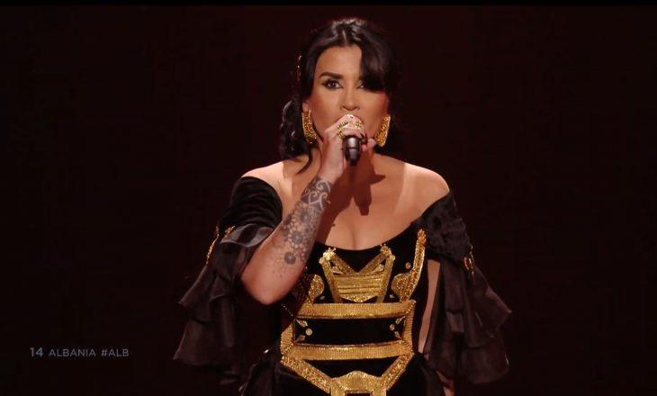 RTSH nuk e ka paguar Jonida Maliqin e cila përfaqësoi Shqipërinë në Eurovizion