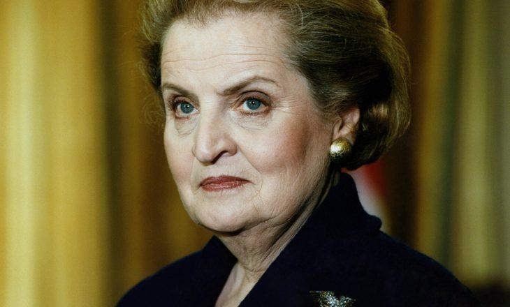 Sekretares Madeleine Albright i ndërtohet busti në Prishtinë