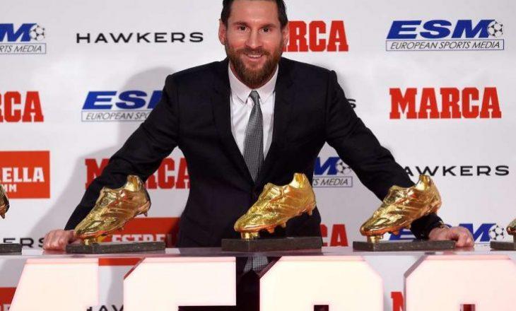 Lionel Messi është fitues i 'Këpucës së Artë' për Evropë në sezonin 2018/19