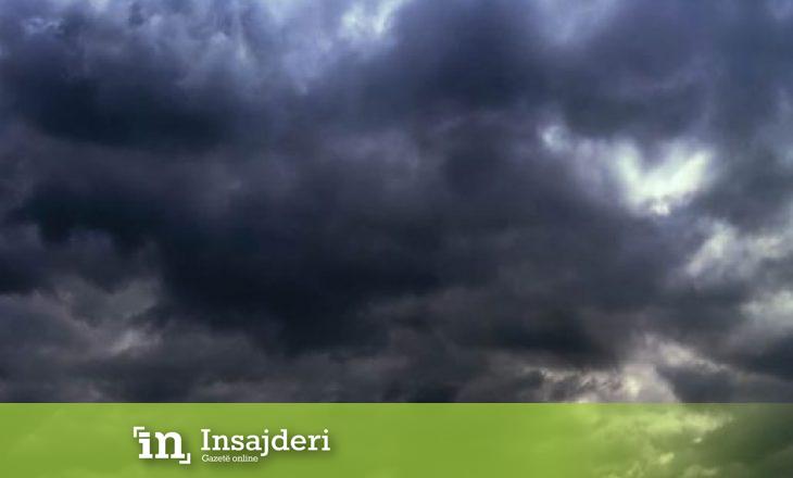 Rrufe, shi dhe breshër – Parashikimi i motit për sot
