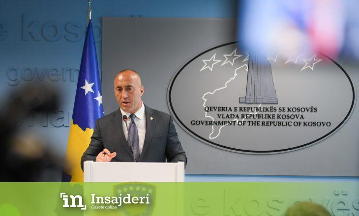 Ky është fjalimi i dorëheqjes së kryeministrit Ramush Haradinaj