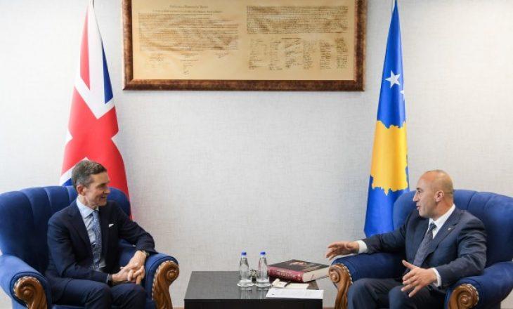 Haradinaj: Kosova e Britania duan fuqizimin e partneritetit ekonomik