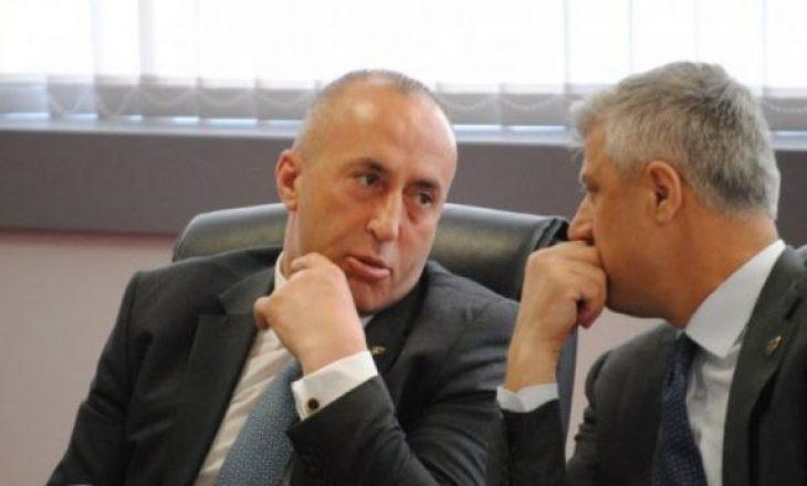 Bora bëhet skllotë – Thaçi i thotë fjalët e Haradinajt