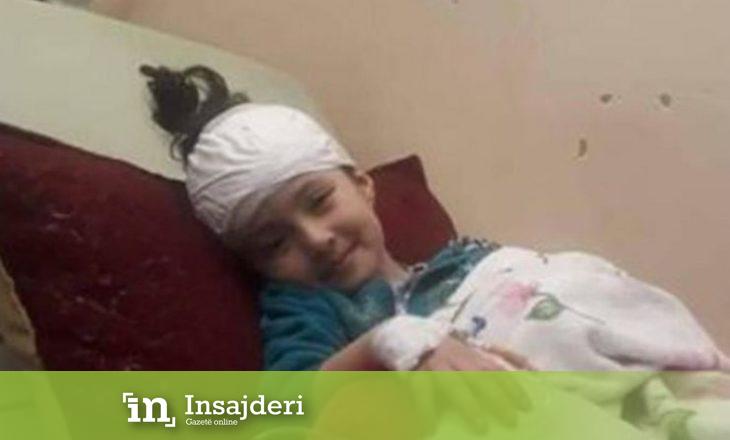 Vdes palestinezja 5 vjeçare, prindërit e së cilës nuk u lejuan ta shoqërojnë në operacion