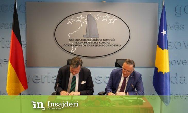Kosova dhe Gjermania nënshkruajnë marrëveshjen për qeverisje të mirë financiare