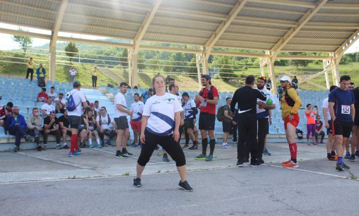 """Mbahet maratona """"Prishtina Trail Marathona"""" Dina Surdulli ambasadore e garës"""