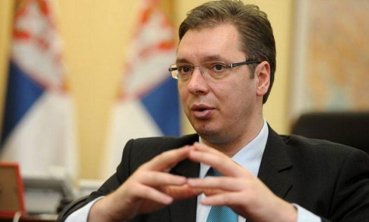 Vuçiq thotë se nëse Kosova e heq taksën atëherë bisedojmë, nëse jo thjeshtë faliminderit