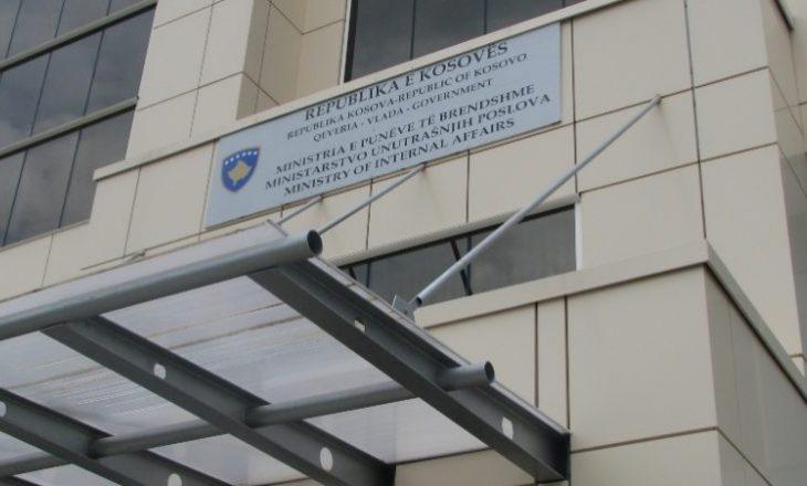 Ministria e Punëve të Brendshme ka një kërkesë për të gjithë qytetarët e Kosovës