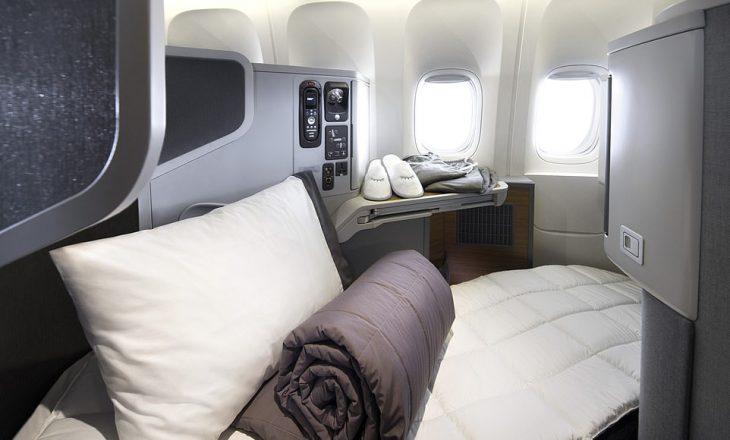 Fotografi përbrenda aeroplanit me kabinën më të shtrenjtë në botë