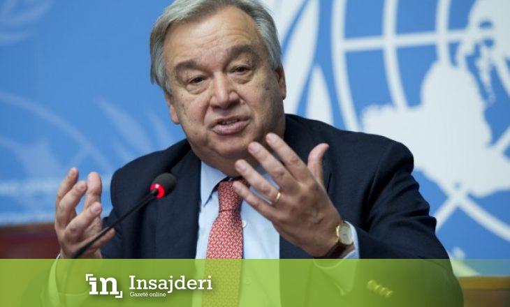 Guterres kërkon nga Turqia dhe Rusia ta stabilizojnë situatën në Siri
