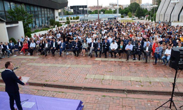 Limaj të rinjve të Prishtinës: Punoni për t'i shërbyer vendit