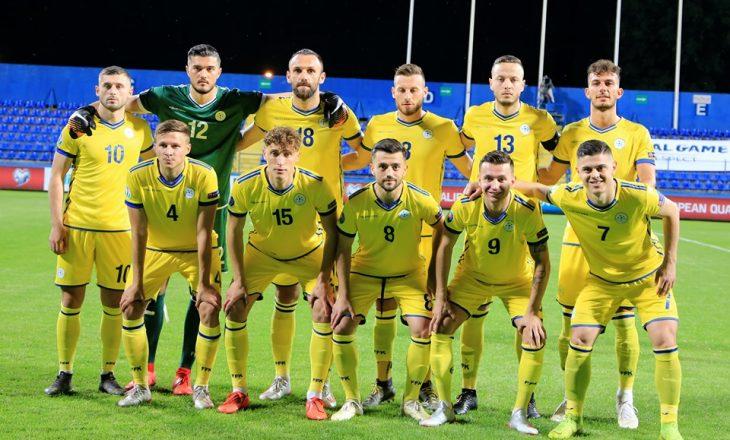 Formacioni zyrtar i Kosovës kundër Bullgarisë
