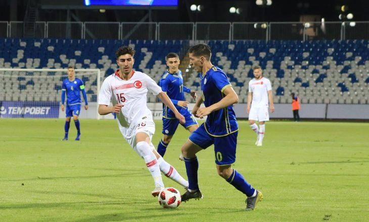"""FFK sqaron """"incidentin"""" në ndeshjen Kosova – Turqia"""