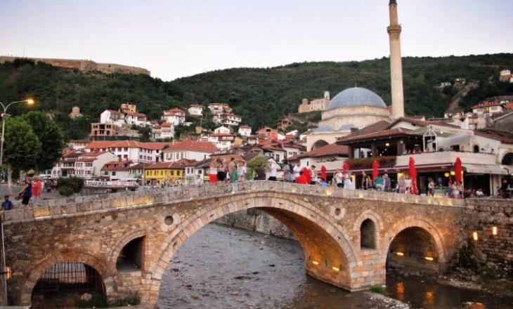 Kartolinë e vitit 1931 – kështu dukej qyteti i Prizrenit