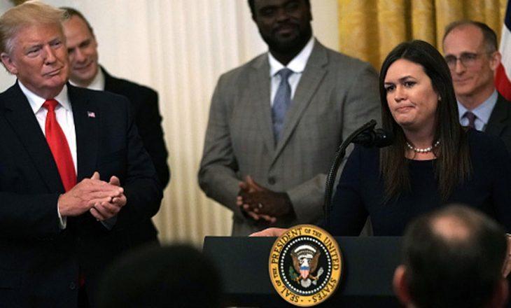 Jep dorëheqjen zëdhënësja e presidentit amerikan, Donald Trump
