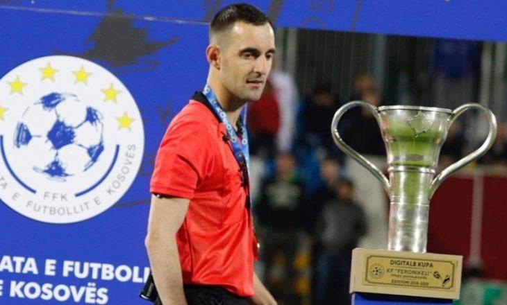 Genc Nuza me vlerësim interesant për gjyqtarin e ndeshjes Bullgari – Kosovë