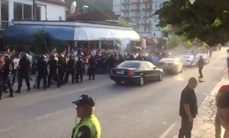 Ja si u godit eskorta e Ramës në Librazhd, 7 të arrestuar