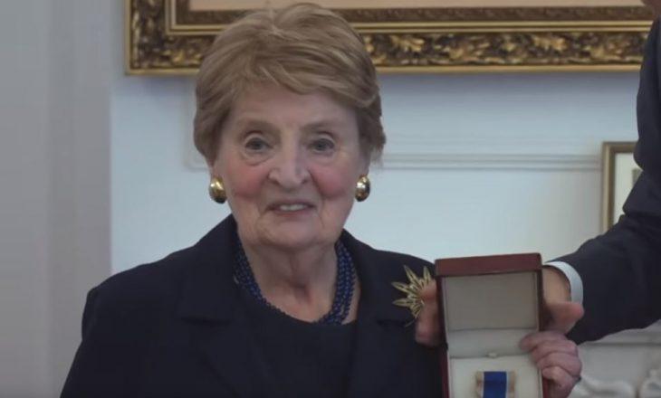 Albright : Jam krenare për vajzat e vogla kosovare që e kanë emrin Madeleine