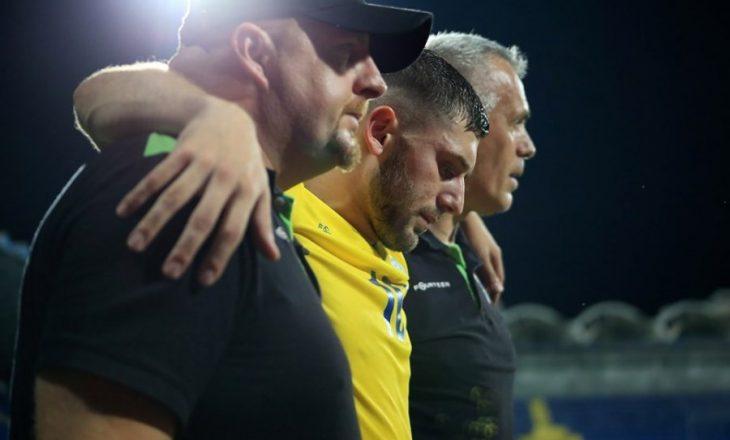 Nuk luajti shkaku i lëndimit, Arbër Zeneli vjen me reagim emocional