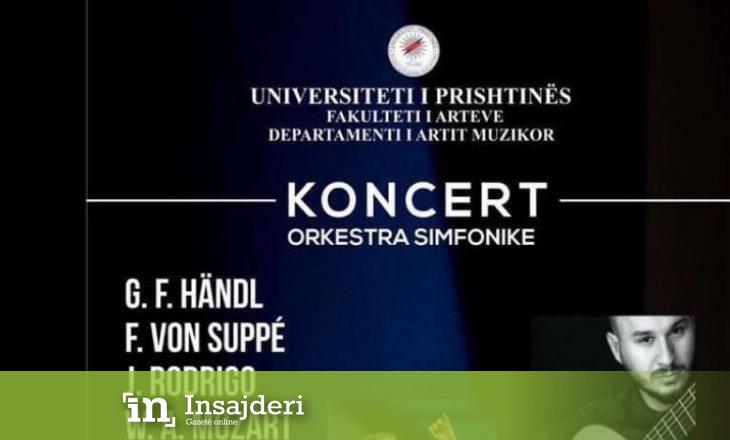Orkestra Simfonike e UP-së mban koncert