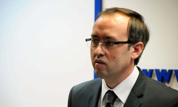 Avdullah Hoti flet edhe nëemër të Vetëvendosjes për PDK-në